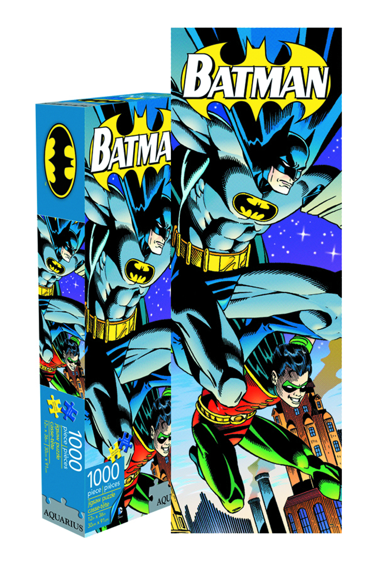 BATMAN & ROBIN SLIM 1000 PIECE JIGSAW PUZZLE