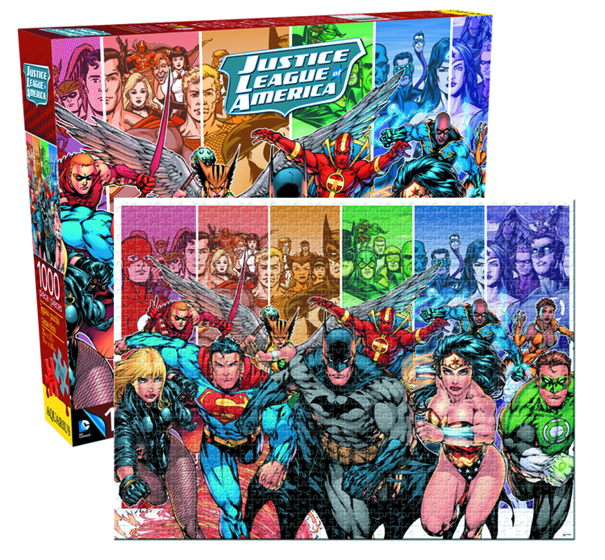 DC COMICS JUSTICE LEAGUE 1000 PIECE JIGSAW PUZZLE