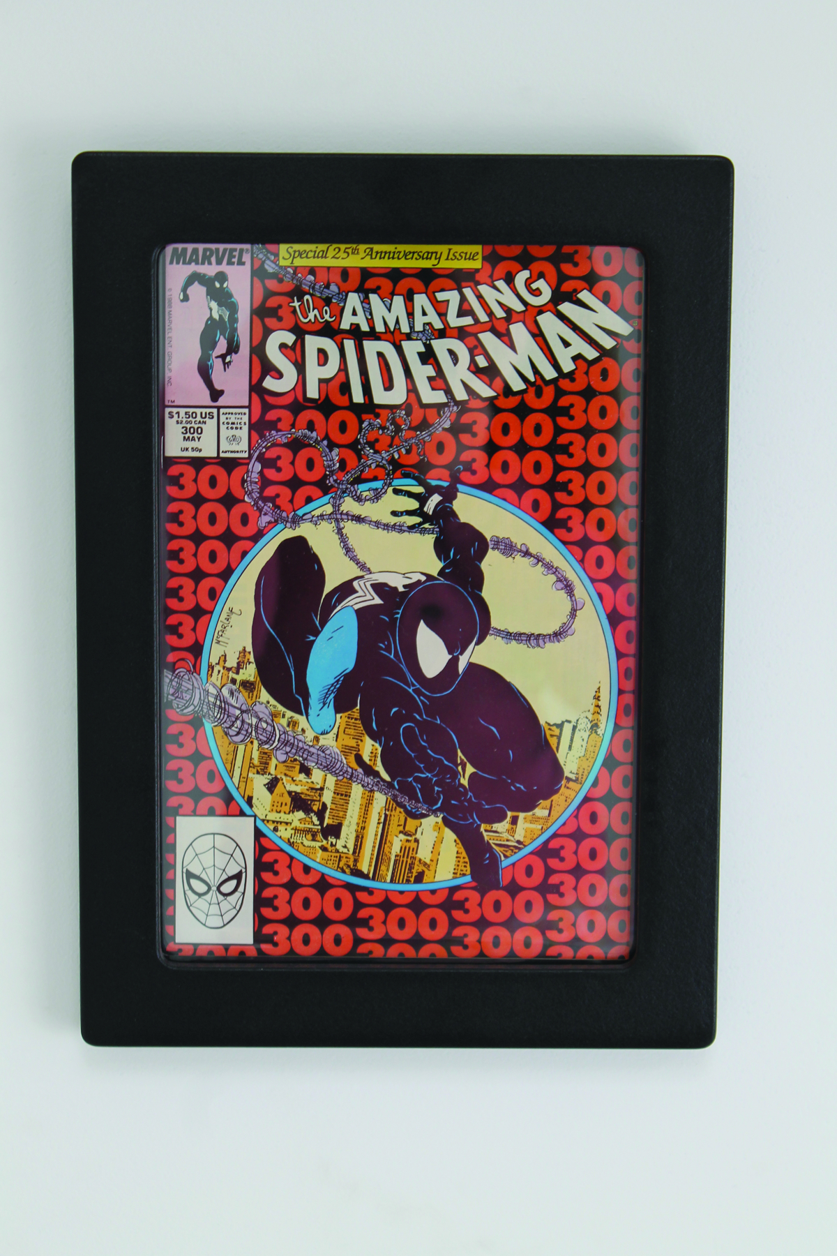 COMIC BOOK POD MUSEUM ED DISPLAY FRAME ASST
