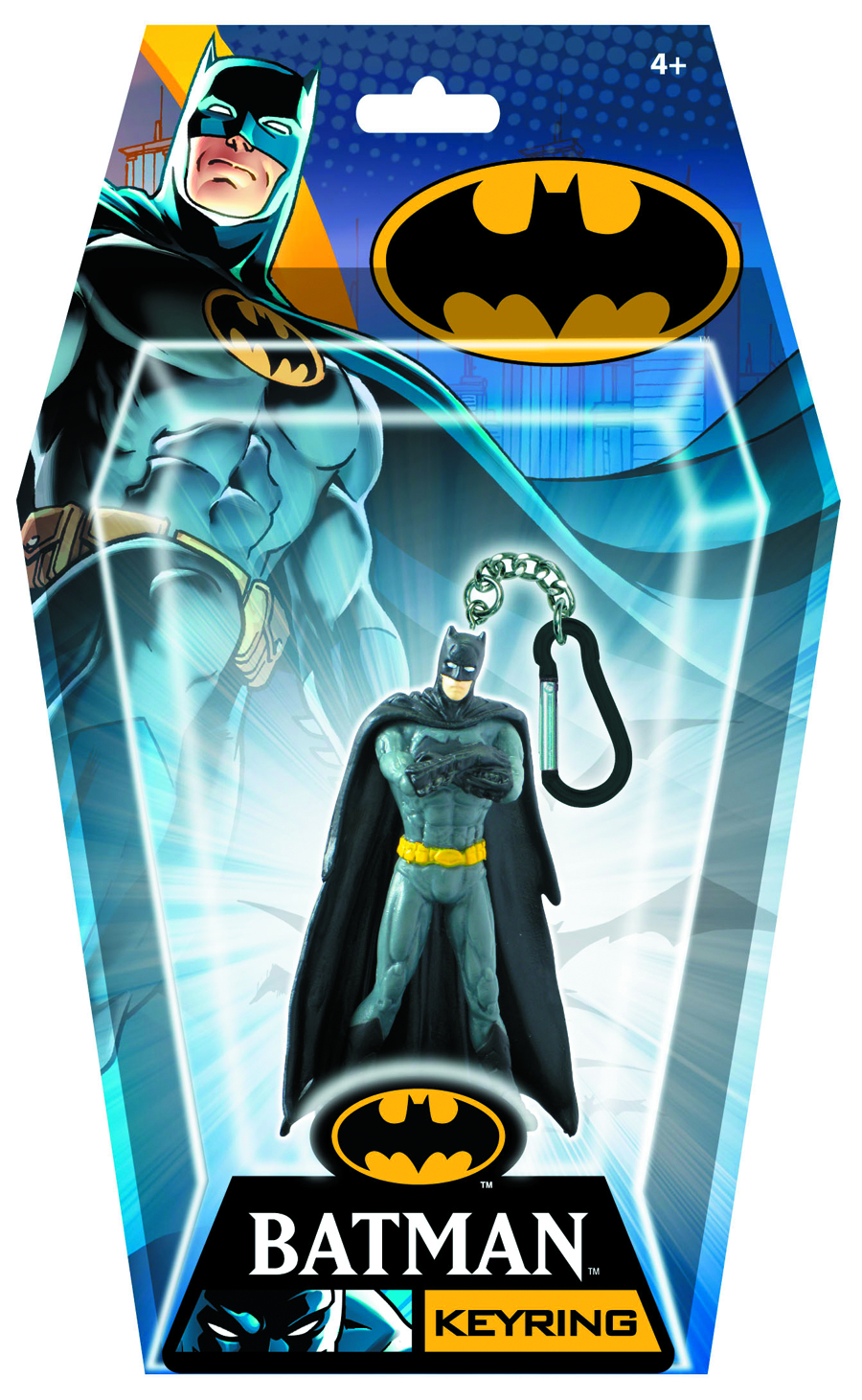 BATMAN CROSSING ARMS FIGURAL KEYRING
