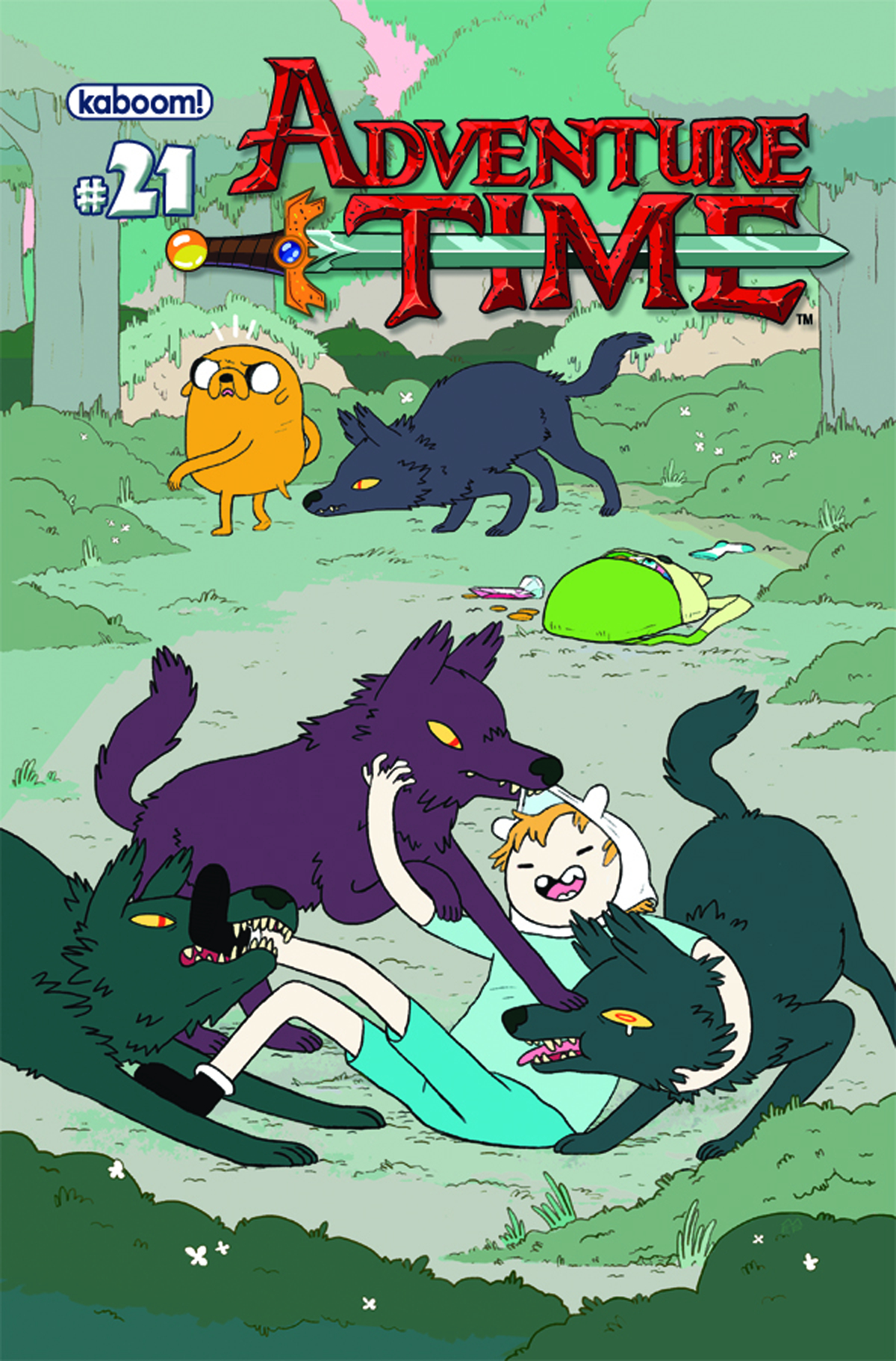 ADVENTURE TIME #21 MAIN CVRS
