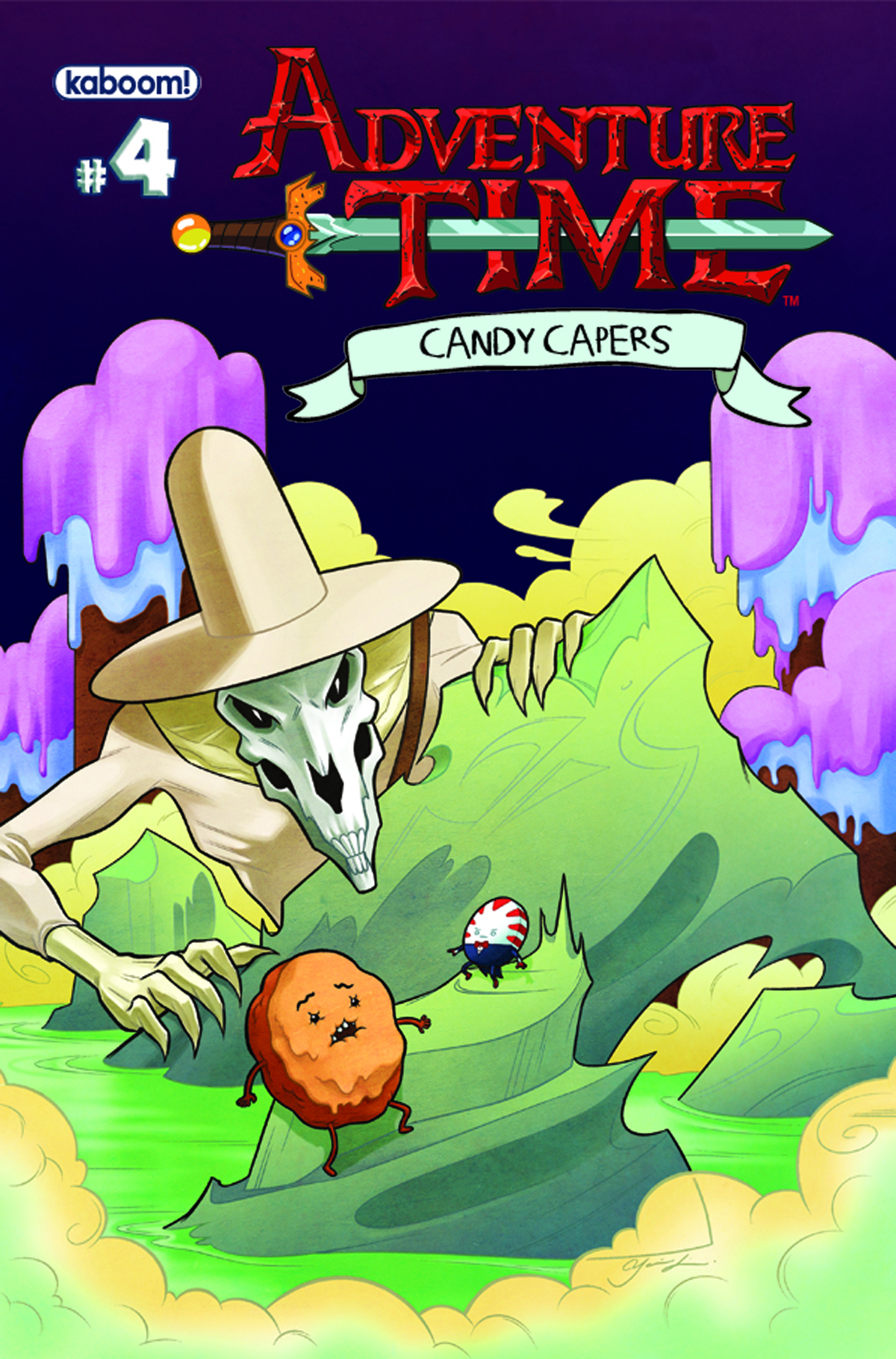 ADVENTURE TIME CANDY CAPERS #4