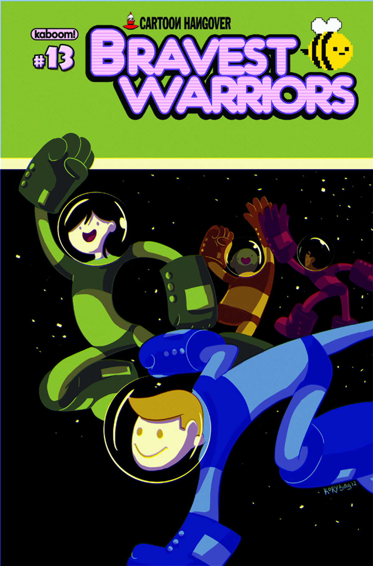 BRAVEST WARRIORS #13 MAIN CVRS