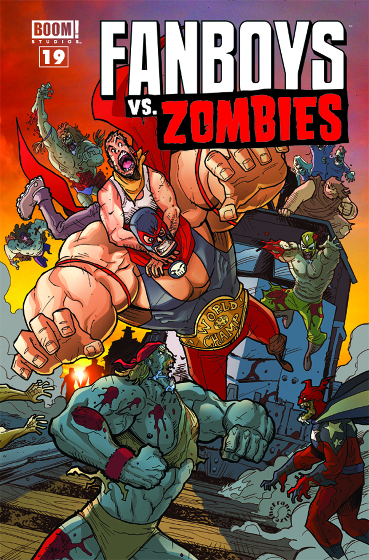 FANBOYS VS ZOMBIES #19