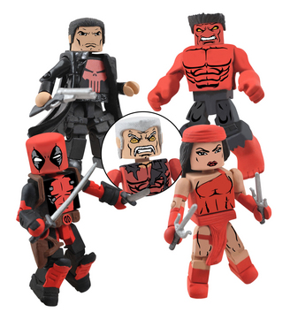 MARVEL NOW MINIMATES THUNDERBOLTS BOX SET