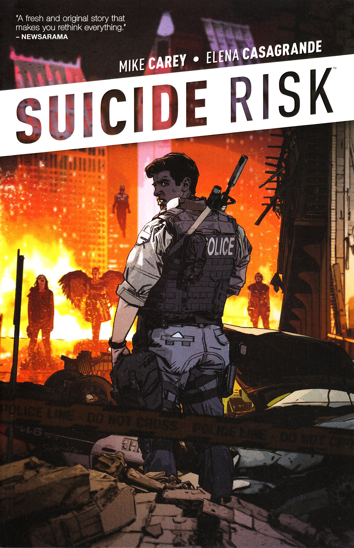 SUICIDE RISK TP VOL 01