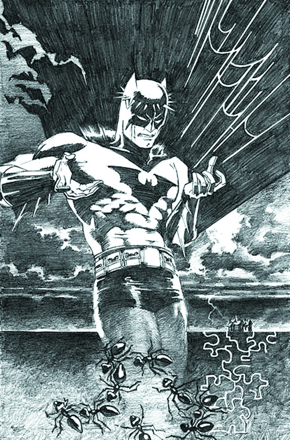 BATMAN BLACK & WHITE #2