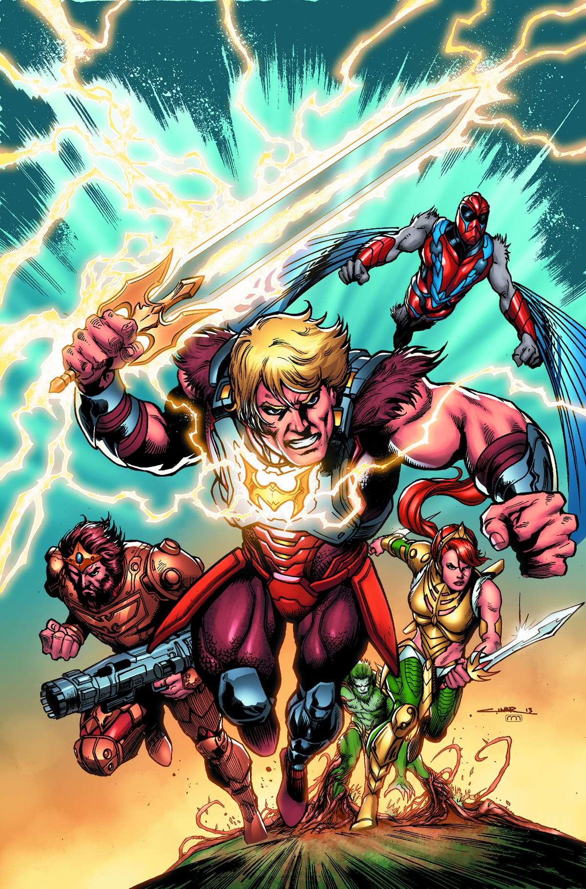 HE MAN AND THE MASTERS OF THE UNIVERSE #7