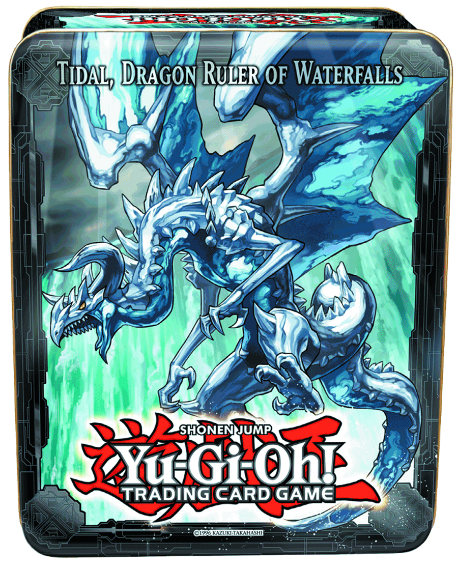 YU GI OH TCG 2013 COLLECTIBLE TIN CASE WAVE 1