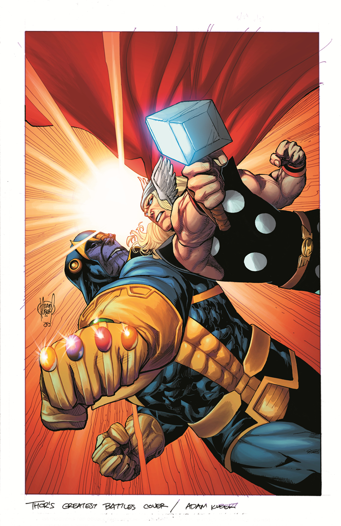 GUARDIANS OF GALAXY #8 THOR BATTLE VAR INF