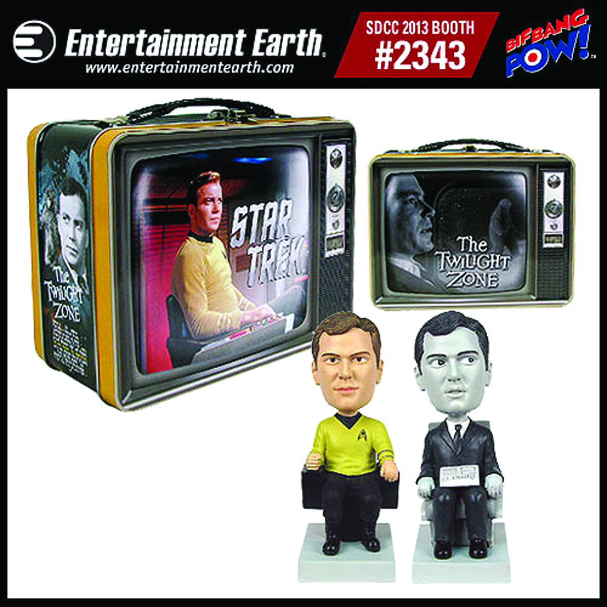 ST/TWILIGHT ZONE MONITOR MATE TIN TOTE GIFT SET