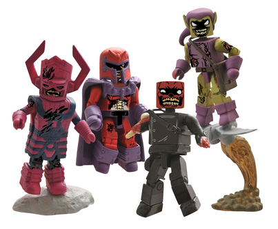 MARVEL MINIMATES ZOMBIE VILLAINS BOX SET