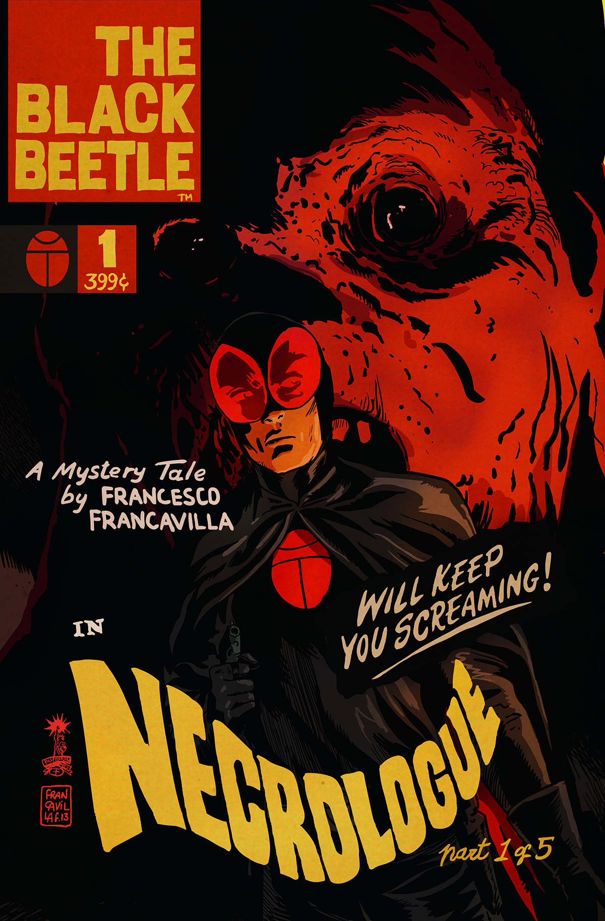 BLACK BEETLE NECROLOGUE #1