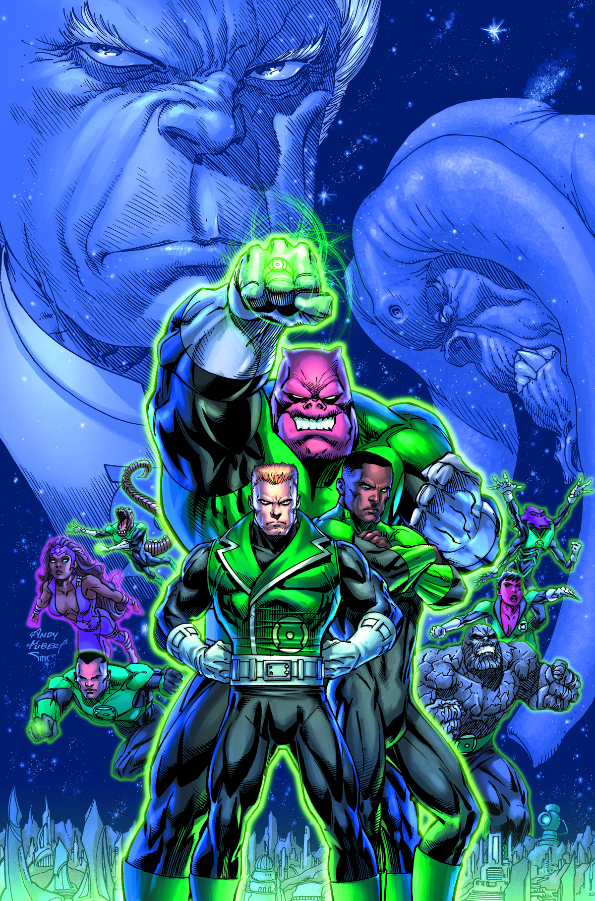 GREEN LANTERN CORPS HC VOL 03 WILLPOWER