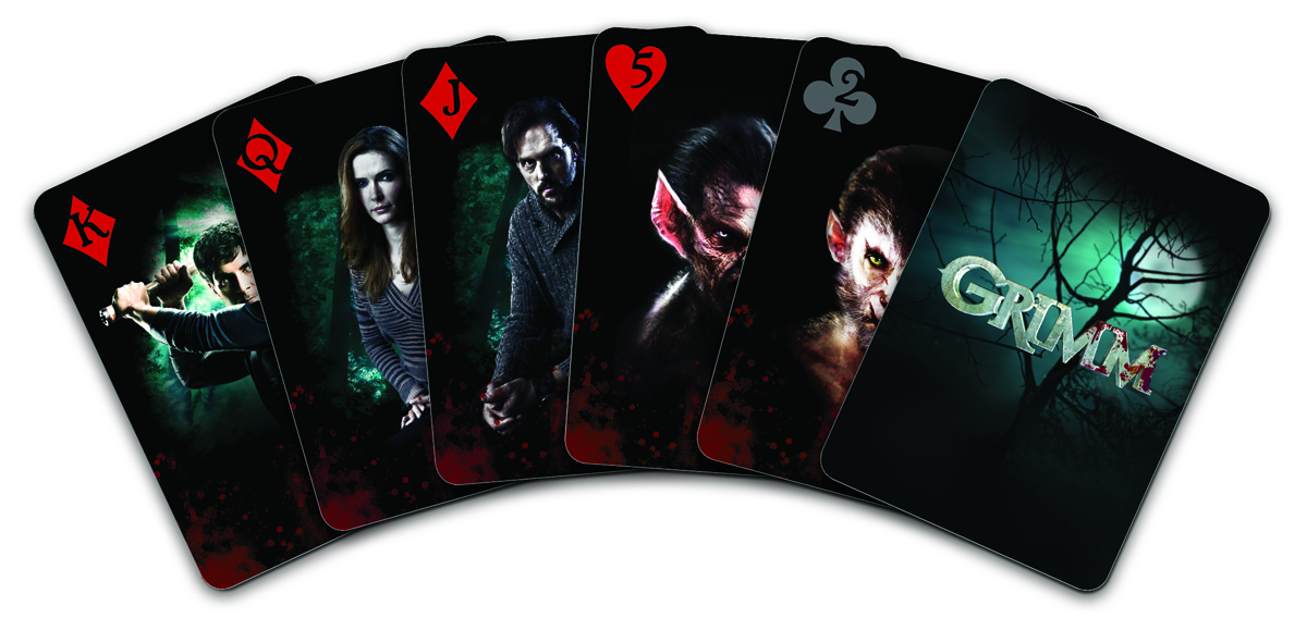 GRIMM PLAYING CARDS