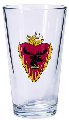 GAME OF THRONES PINT GLASS STANNIS