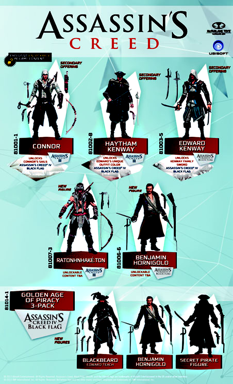 ASSASSINS CREED GOLDEN AGE PIRACY 3PK AF CS