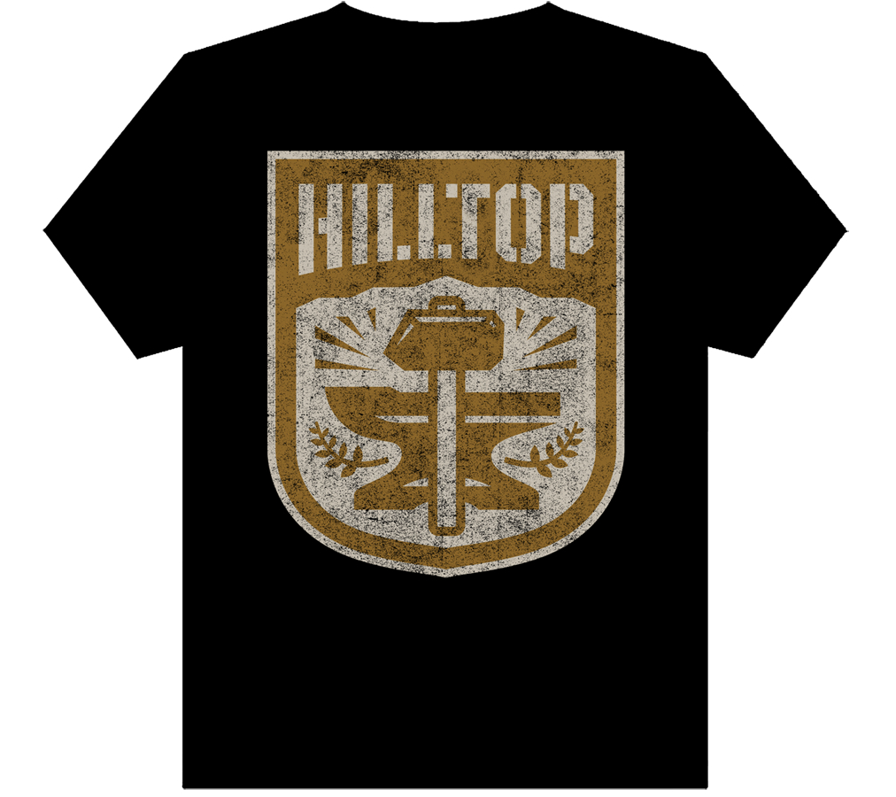 WALKING DEAD HILLTOP MENS T/S LG