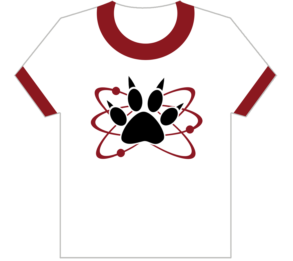 SCIENCE DOG T/S WOMENS XL