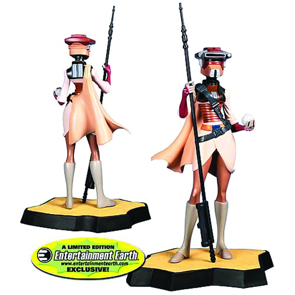 SW LEIA IN BOUSHH DISGUISE MAQUETTE
