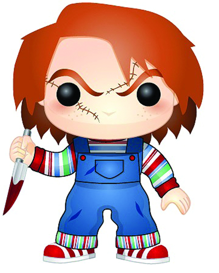 POP MOVIES CHUCKY VINYL FIG