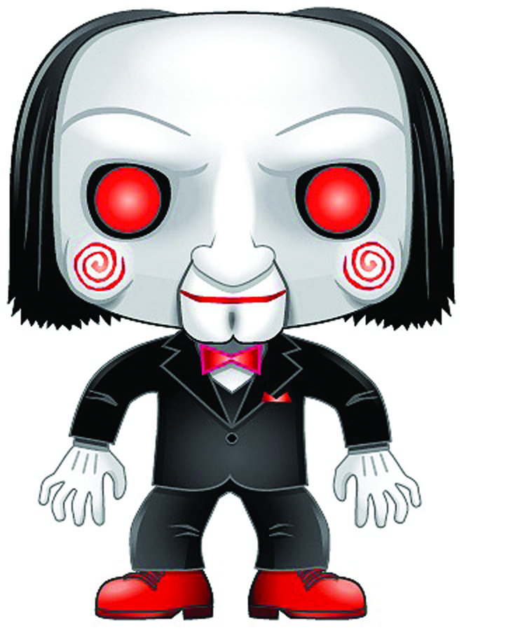 POP MOVIES SAW BILLY VINYL FIG