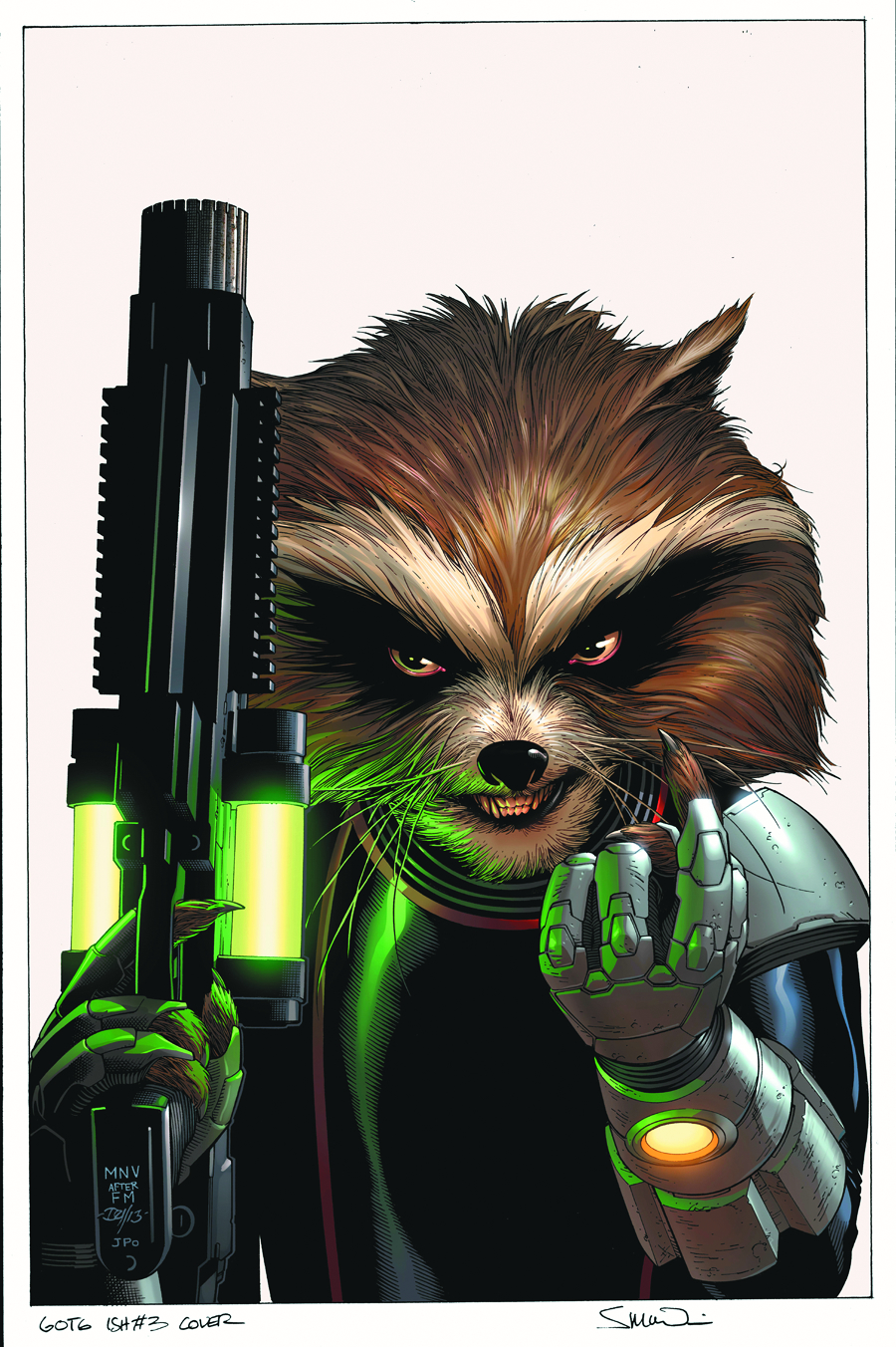 GUARDIANS OF GALAXY #3 2ND PTG MCNIVEN VAR NOW