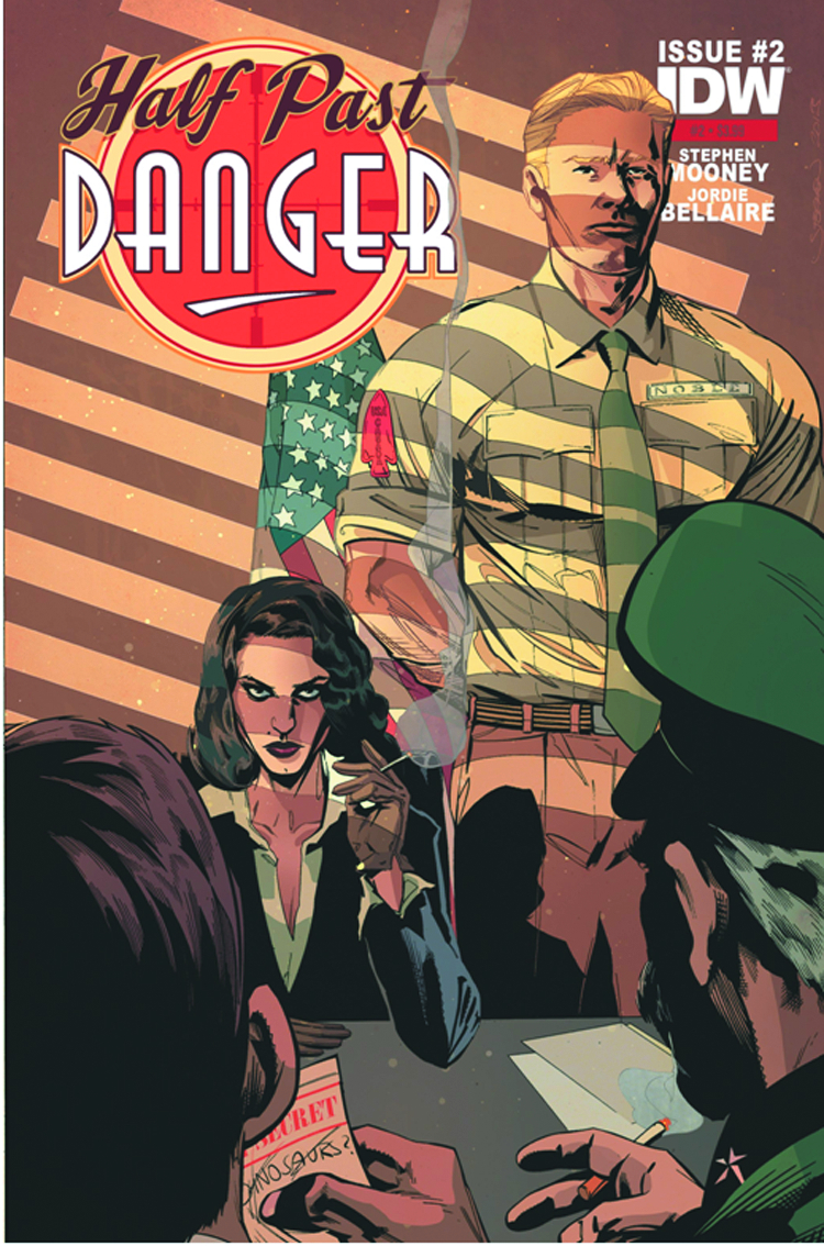 HALF PAST DANGER #2 (OF 6) 2ND PTG