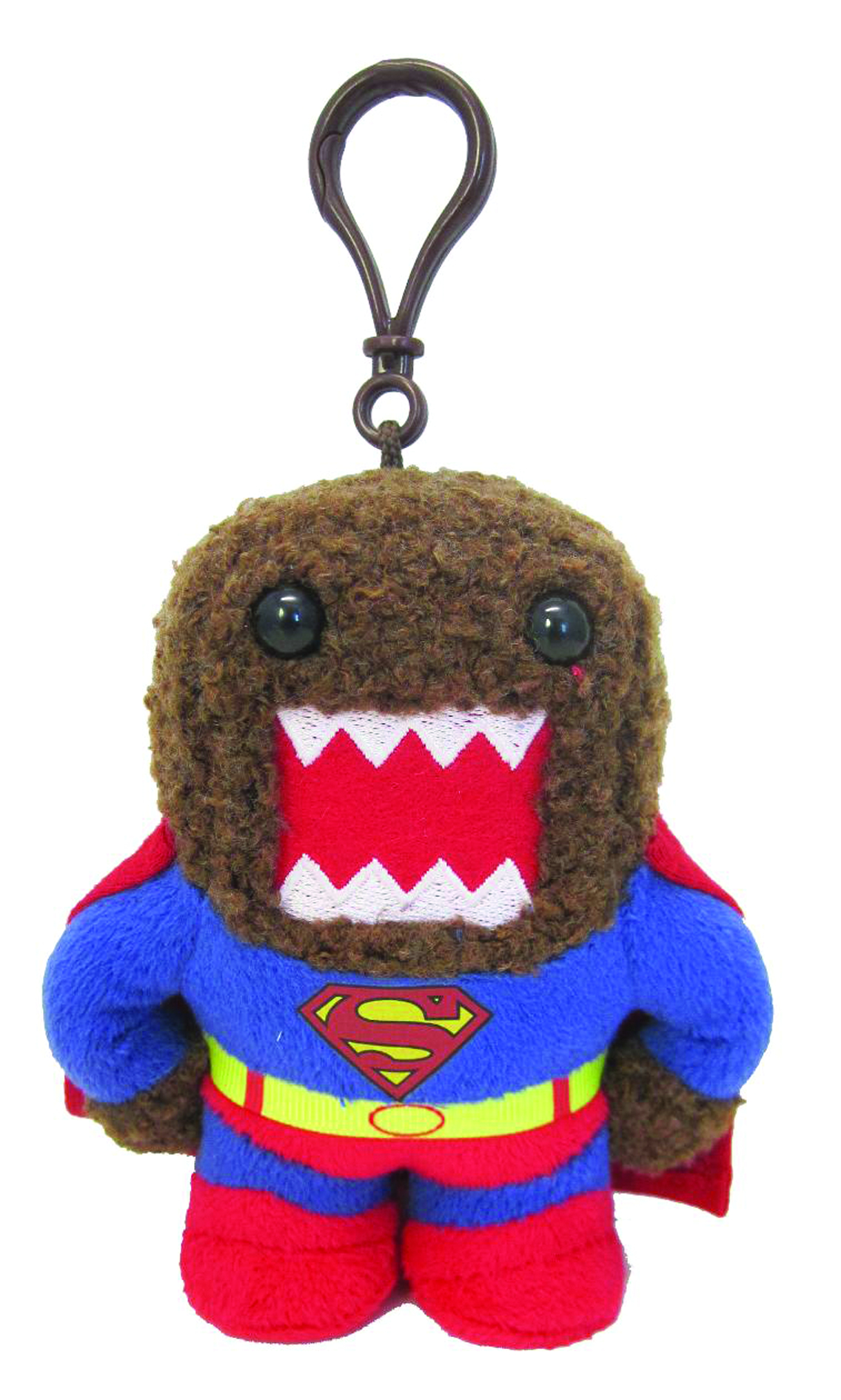 DOMO SUPERMAN CLIP ON PLUSH