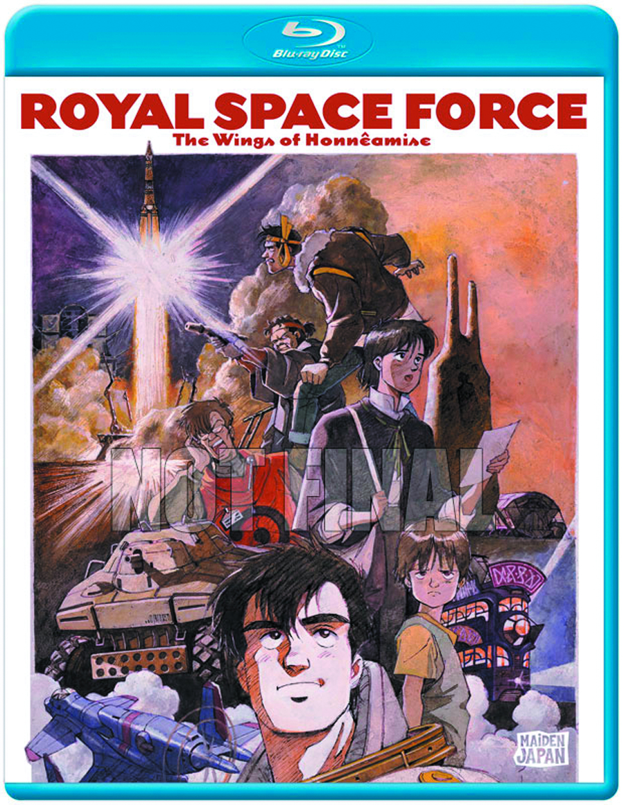 ROYAL SPACE FORCE THE WINGS OF HONNEAMISE BD