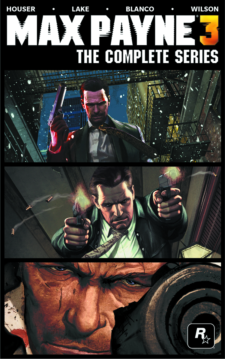 MAX PAYNE 3 COLLECTED ED HC