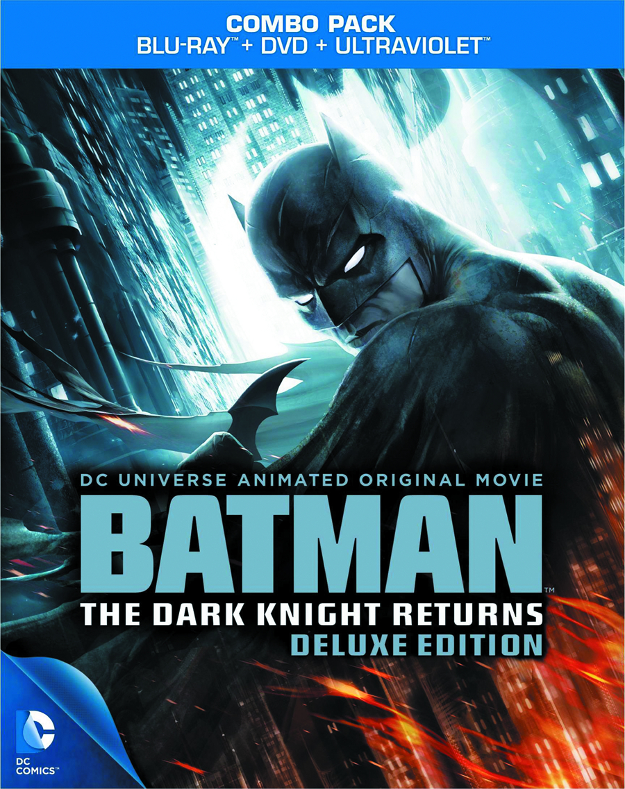 DCU BATMAN THE DARK KNIGHT RETURNS BD + DVD DLX