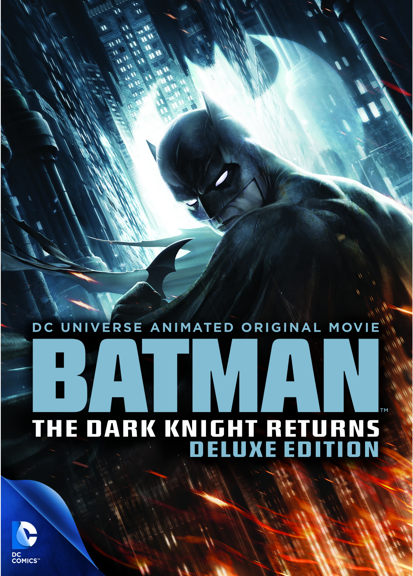 DCU BATMAN THE DARK KNIGHT RETURNS DVD DLX
