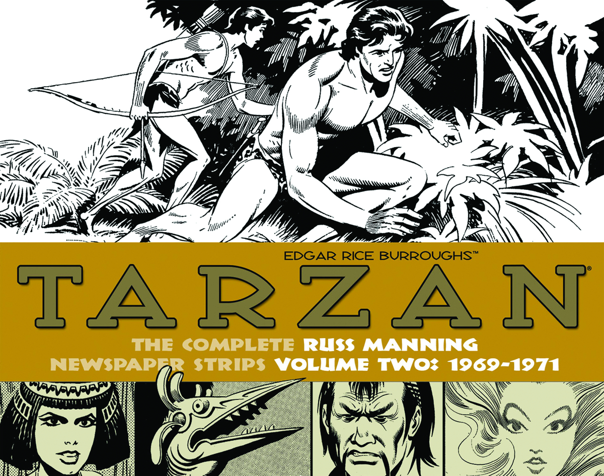 TARZAN RUSS MANNING NEWSPAPER STRIPS HC VOL 02 1969-1971
