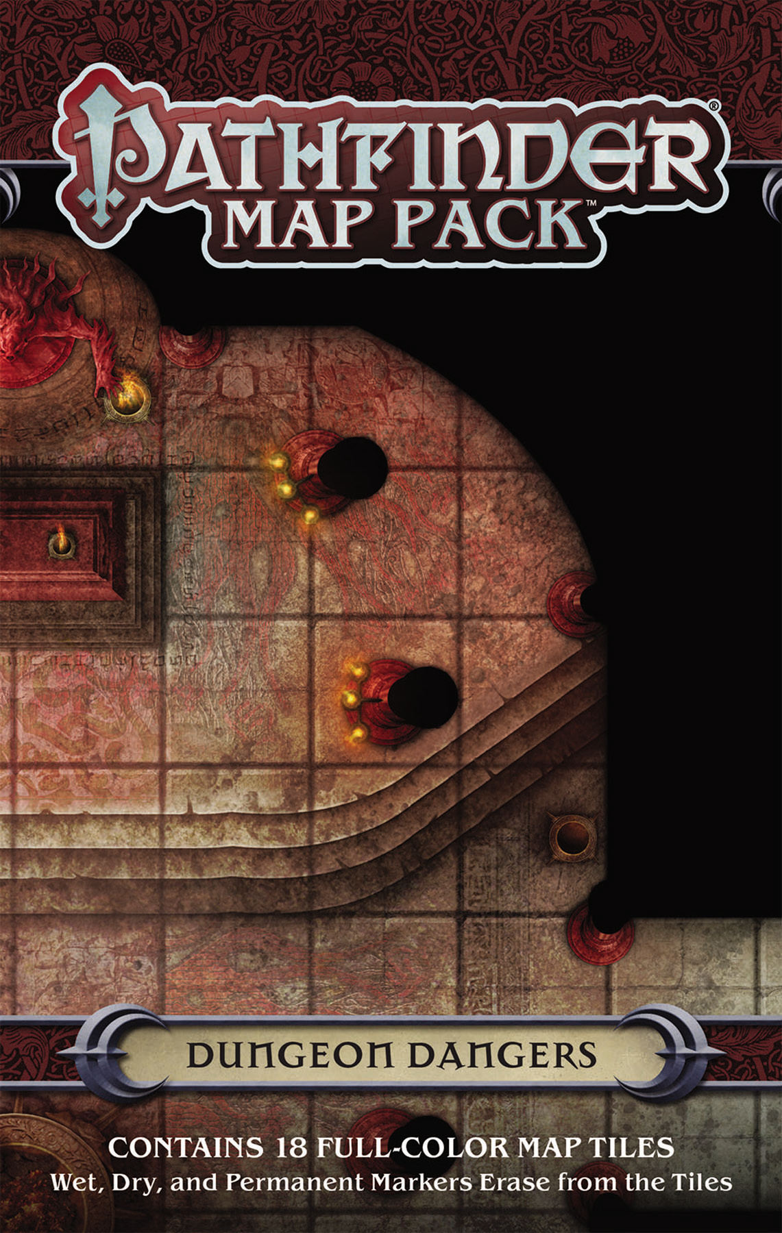 PATHFINDER MAP PACK DUNGEON DANGERS