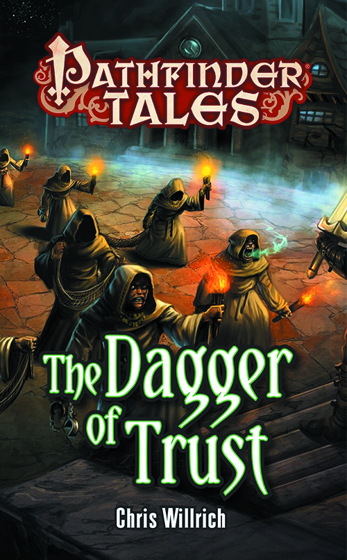 PATHFINDER TALES THE DAGGER OF TRUST