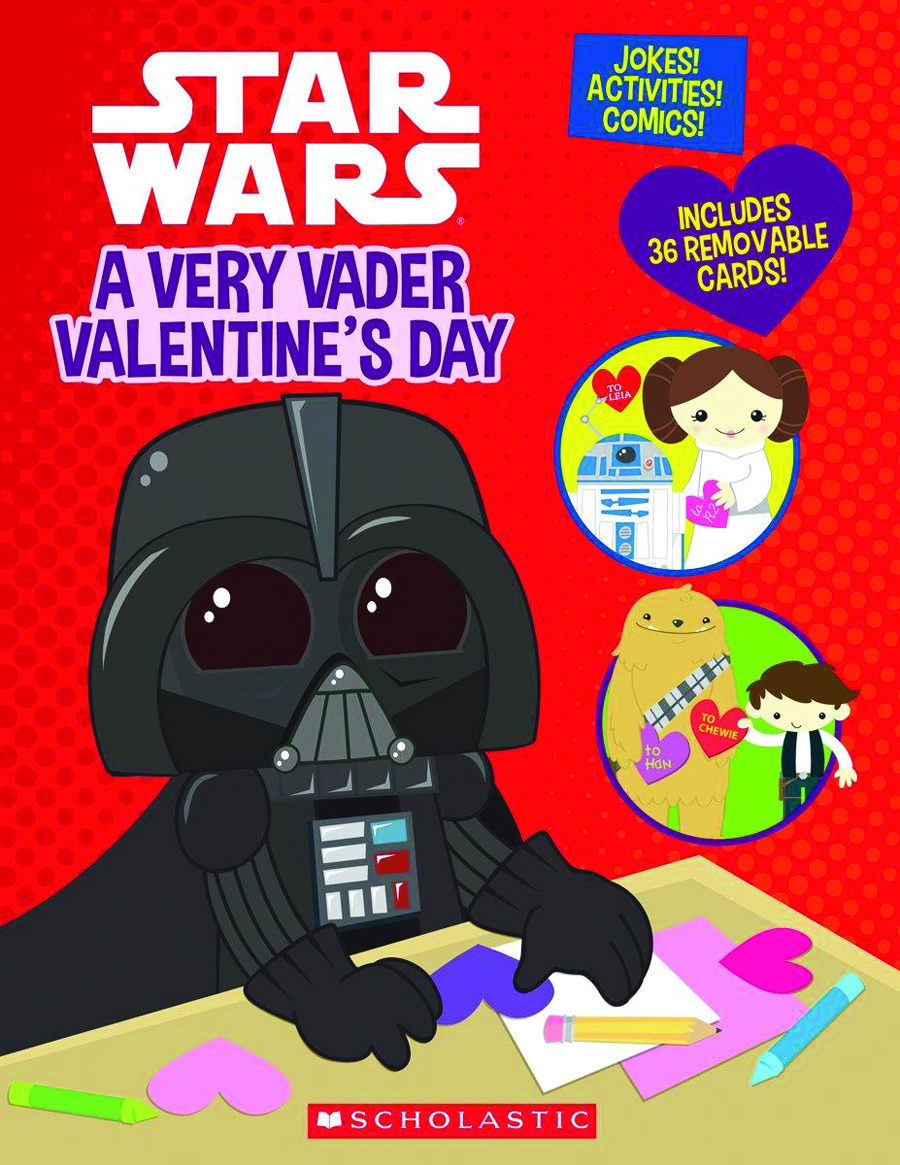 STAR WARS VERY VADER VALENTINES DAY SC