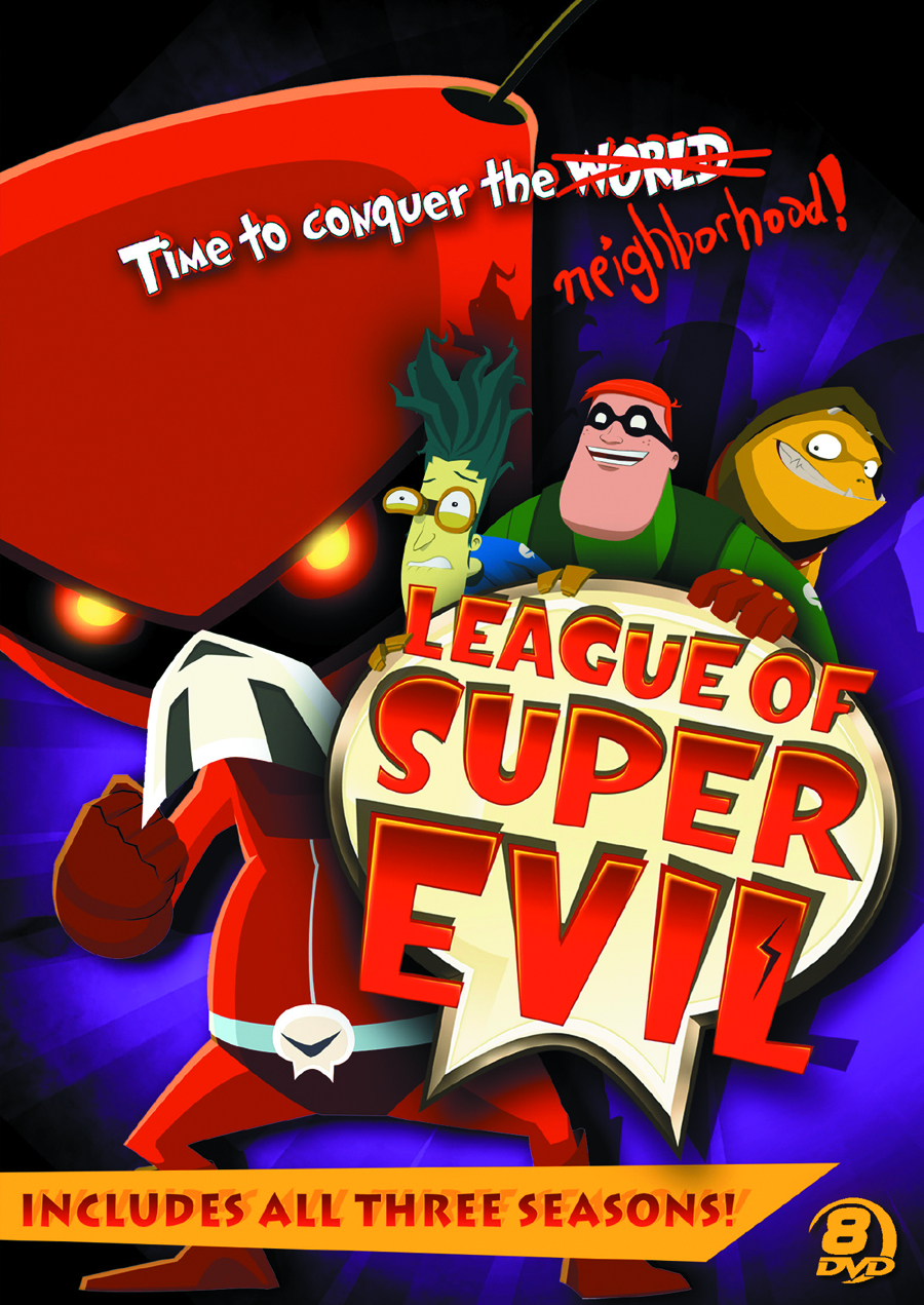 LEAGUE OF SUPER EVIL DVD MEGASET