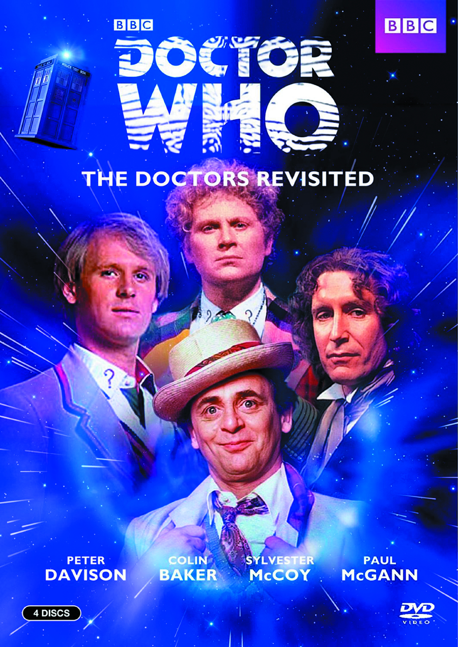 DOCTOR WHO THE DOCTORS REVISITED 5-8 DVD