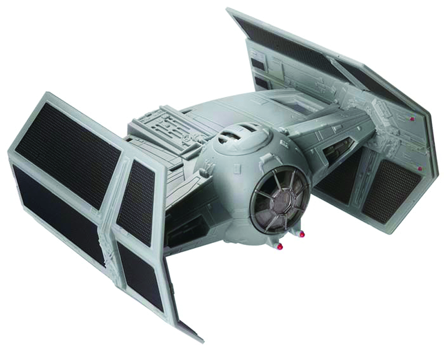 SW DARTH VADER TIE FIGHTER SNAPTITE MODEL KIT