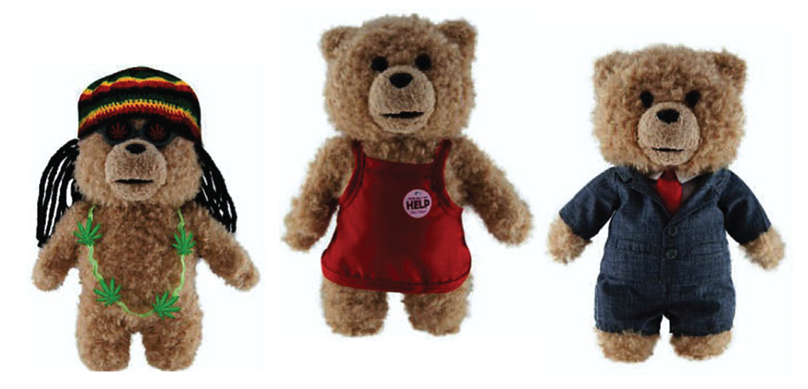 SETH MACFARLANE TED 8IN PLUSH W/OUTFIT INNER DIS