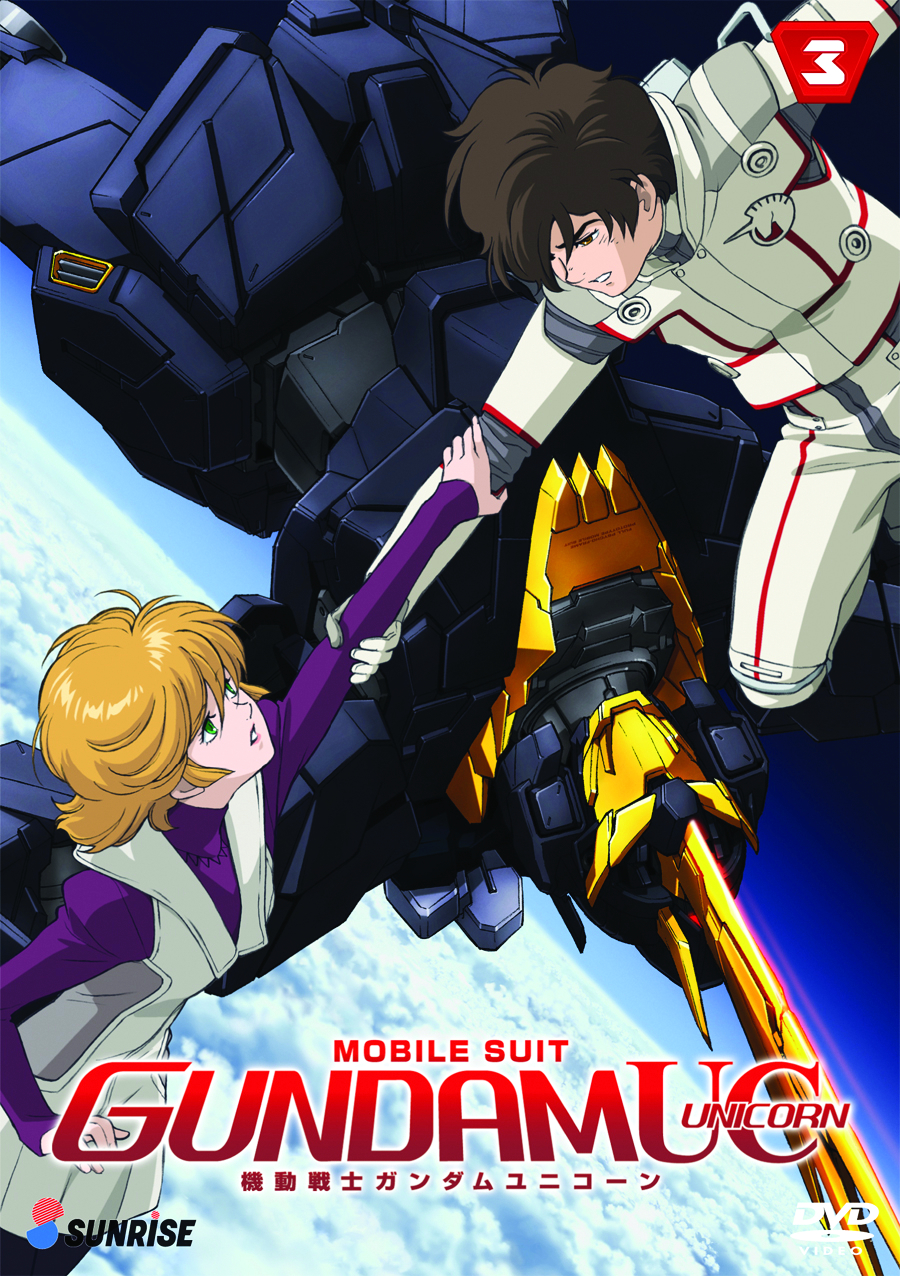 MOBILE SUIT GUNDAM UC DVD PT 03