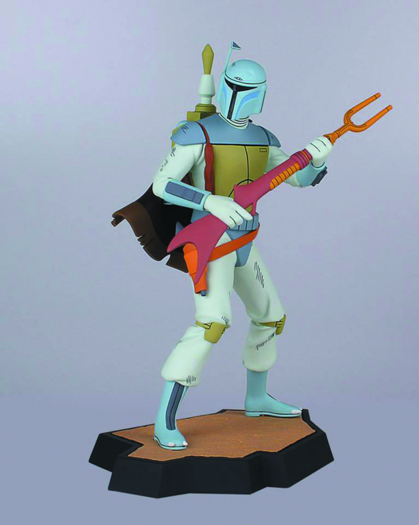 SW BOBA FETT HOLIDAY SPEC ANIMATED MAQUETTE
