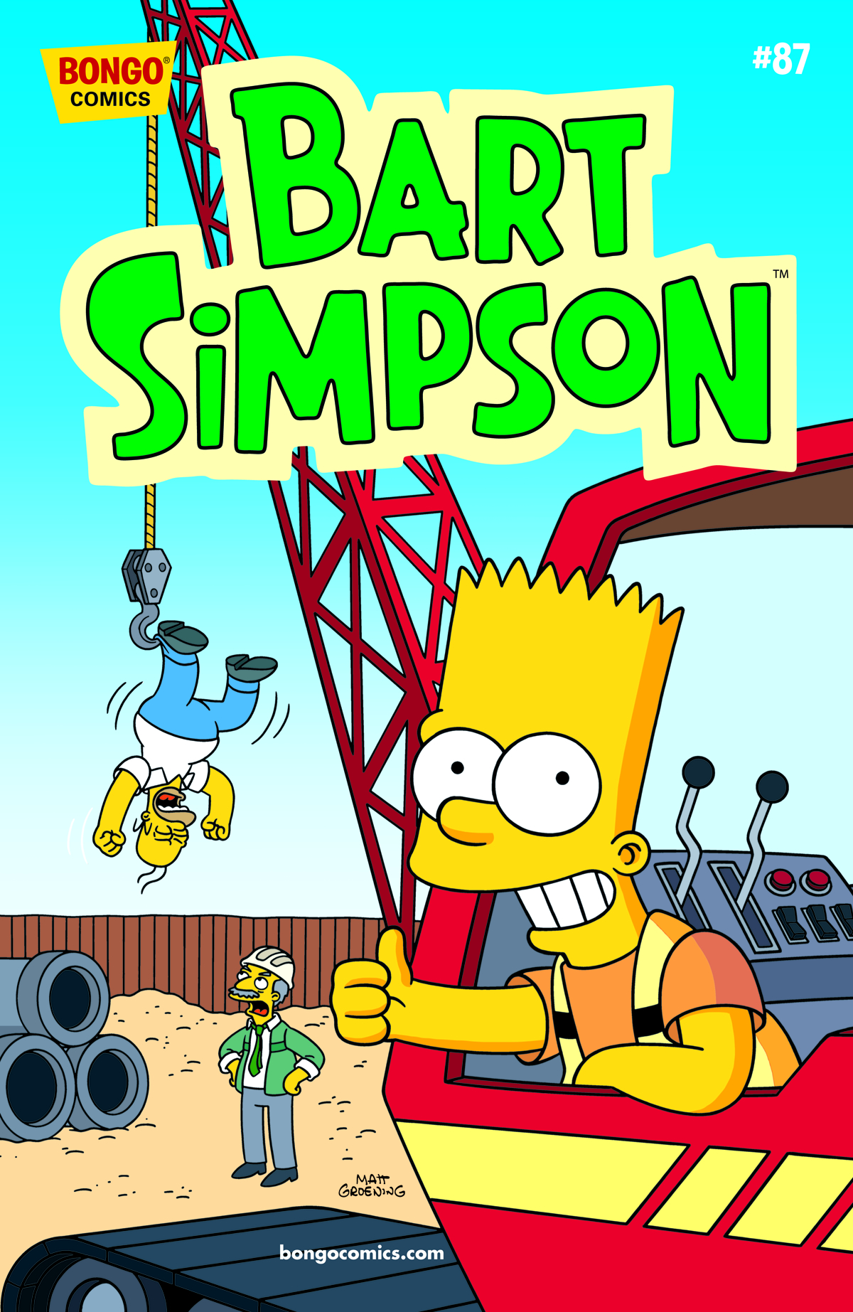 BART SIMPSON COMICS #87