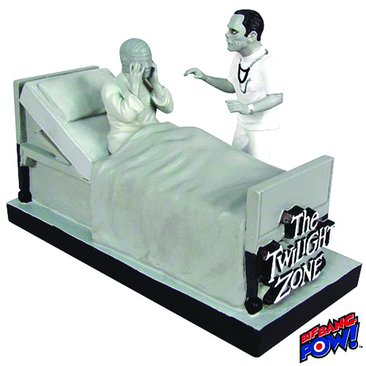 TWILIGHT ZONE EYE OF THE BEHOLDER DIORAMA SET