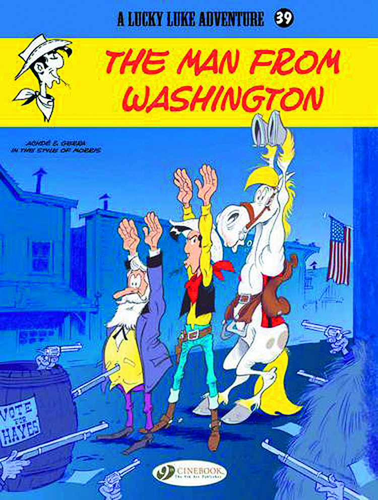 LUCKY LUKE TP VOL 39 MAN FROM WASHINGTON