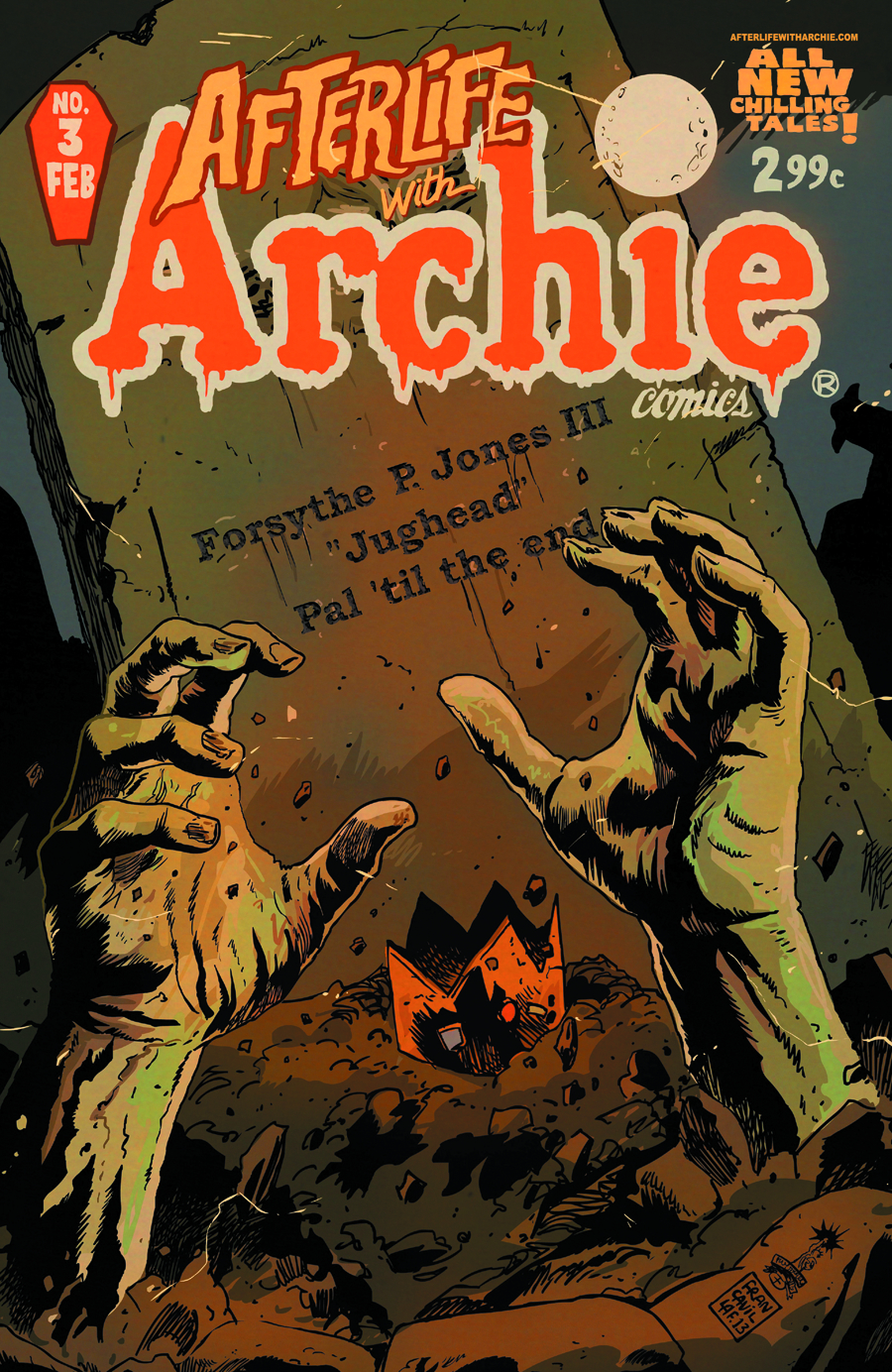 AFTERLIFE WITH ARCHIE #3 REG FRANCAVILLA CVR