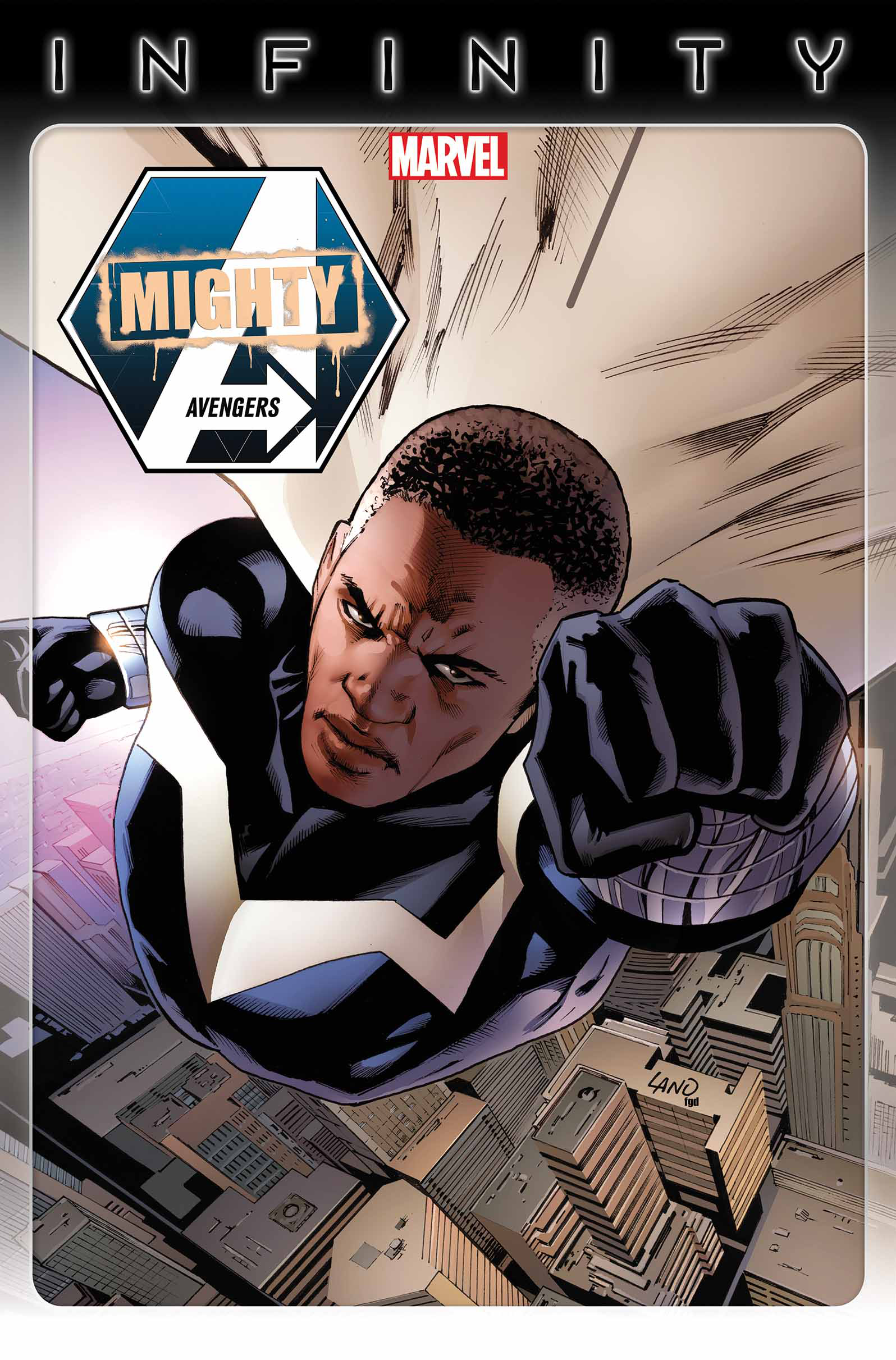 MIGHTY AVENGERS #3 INF