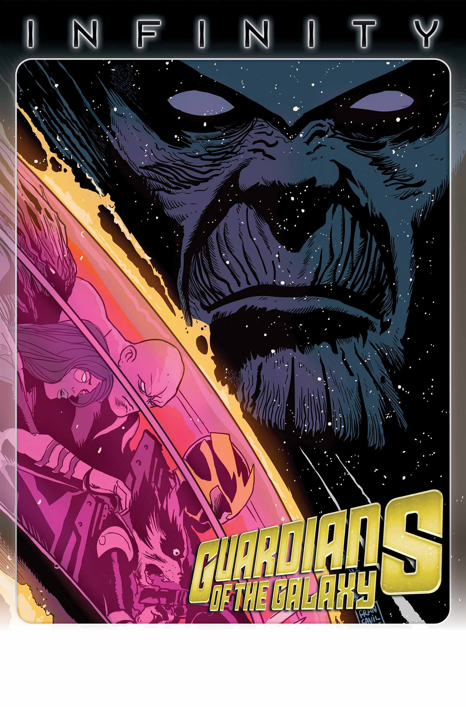 GUARDIANS OF GALAXY #9 INF