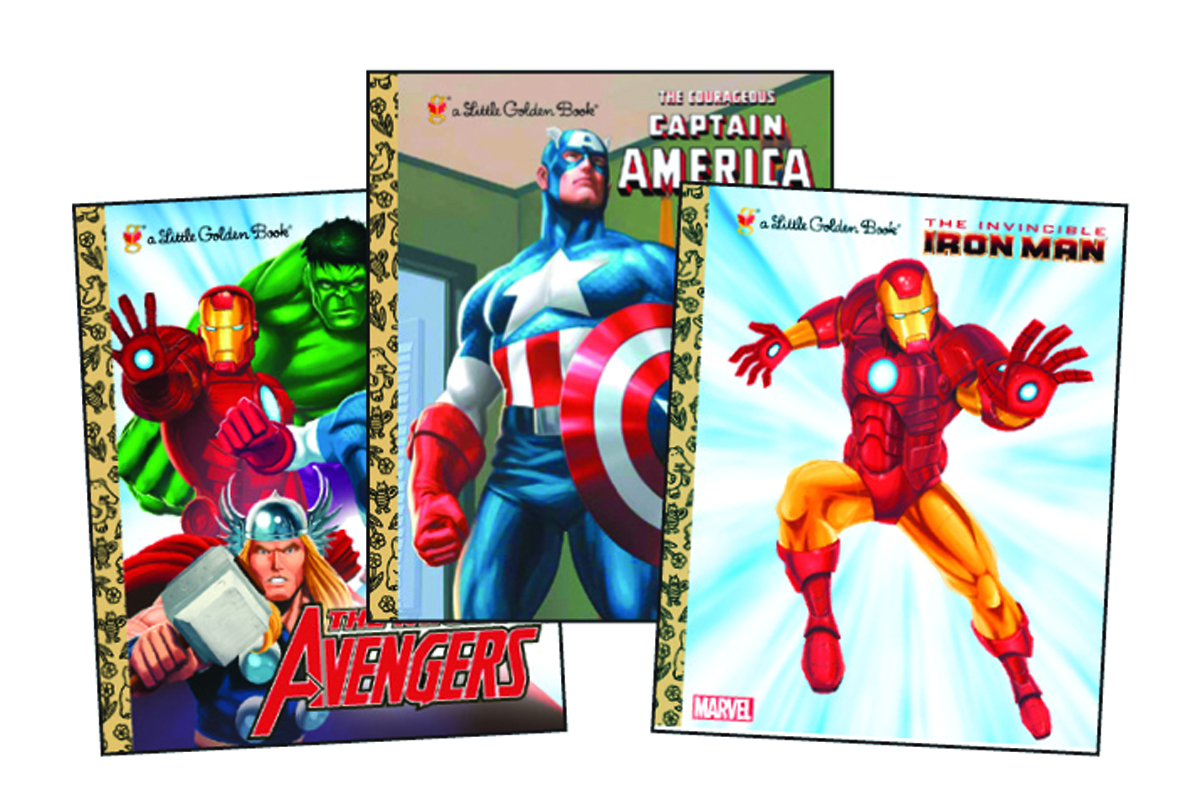 MARVEL SUPER HEROES GOLDEN BOOK BUNDLE #1
